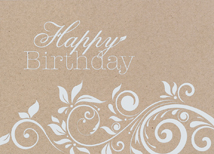 A Simple Wish Birthday Greeting Card